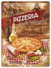 Metalowy plakat szyld blacha tin signs Pizzeria La Vera