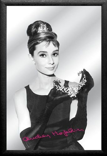 Plakat Na Lustrze 20x30 Cm Audrey Hepburn Lustro Barowe