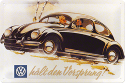 Metalowy szyld blacha tin signs Volkswagen Garbus VW Prezent