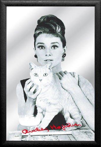 Plakat Na Lustrze 20x30 Cm Audrey Hepburn