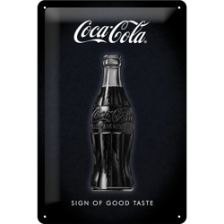 Coca-Cola - Sign Of Good Taste Metalowy plakat szyld 30X20 cm